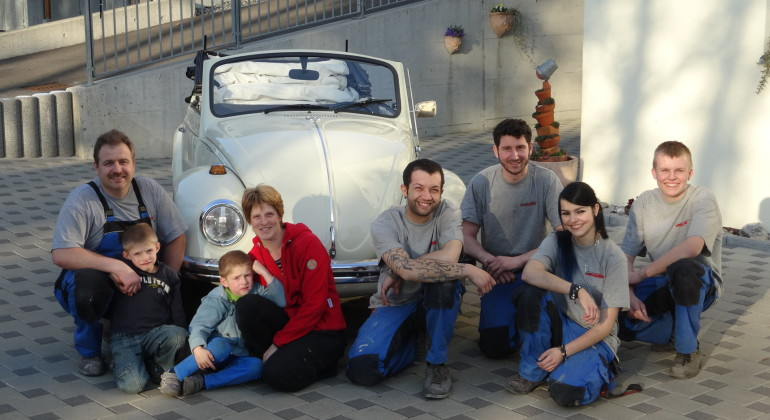Mitarbeiter der Firma Deck GmbH